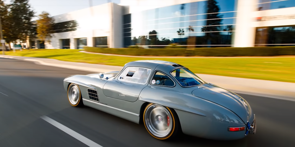 This Gullwing is totally bonkers