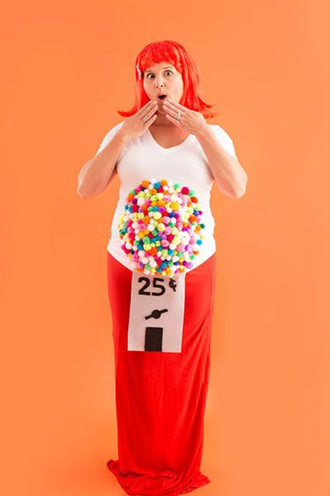 0b221313ce8fd 15 Best Halloween Costumes for Pregnant Women - Easy DIY Maternity ...