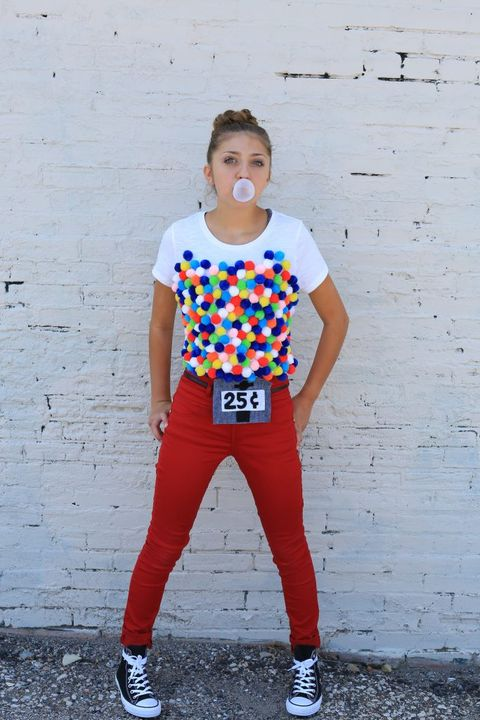 gumball machine costume for tweens