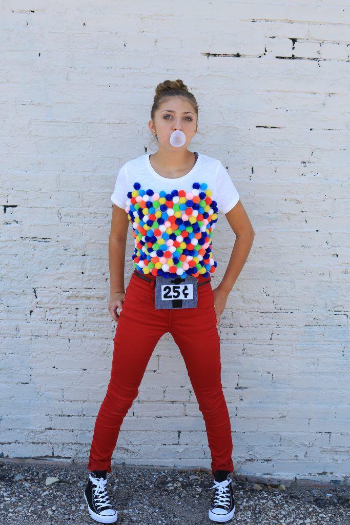 Gumball Machine Costume For Tweens