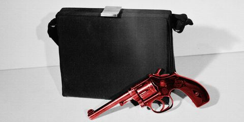 Gun, Revolver, Trigger, Starting pistol,