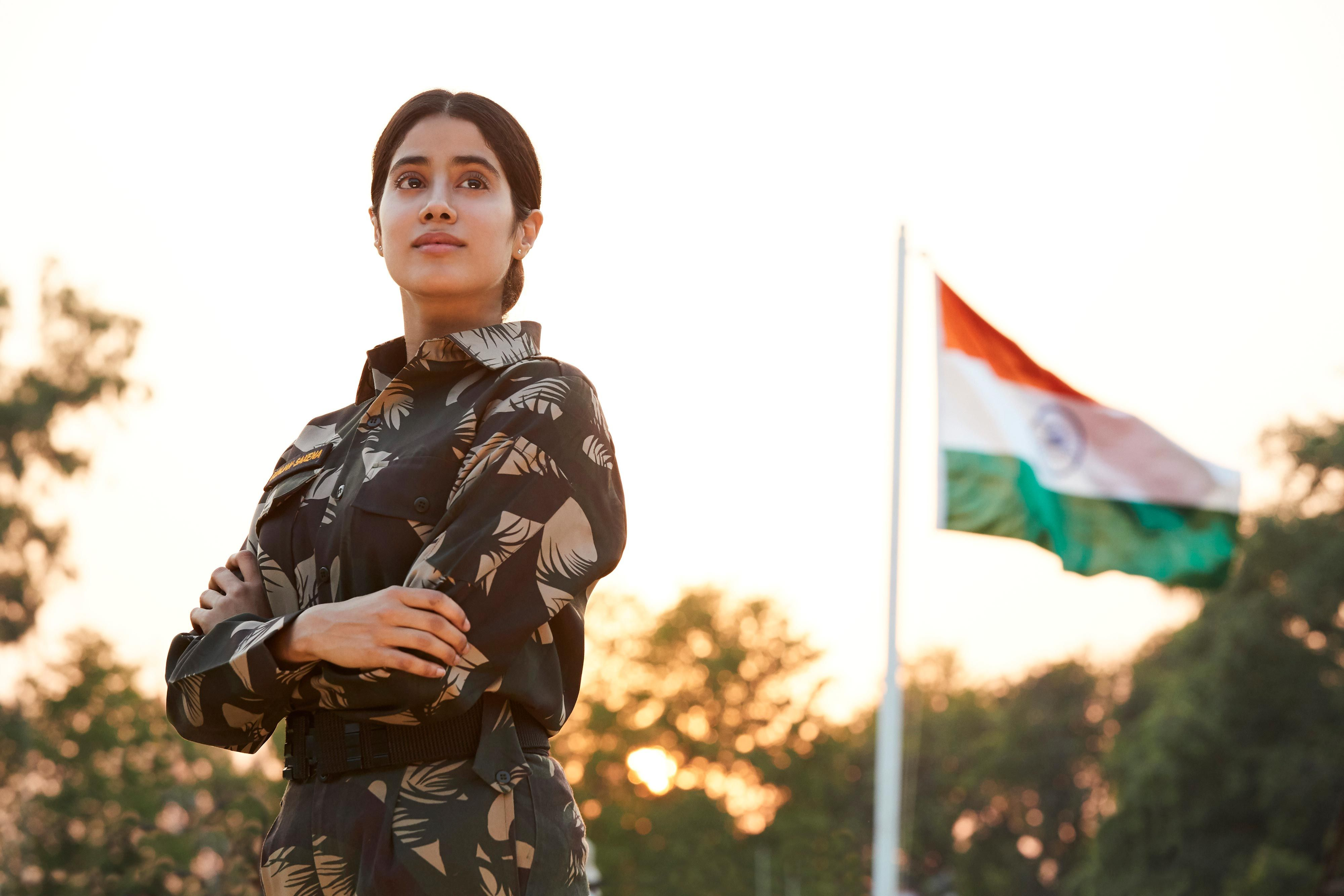 Netflix S Gunjan Saxena Offers A Different Kind Of War Movie