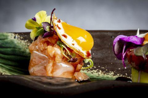 restaurantes platos huevo, donde probar huevo, dia mundial huevo, mejores japoneses madrid