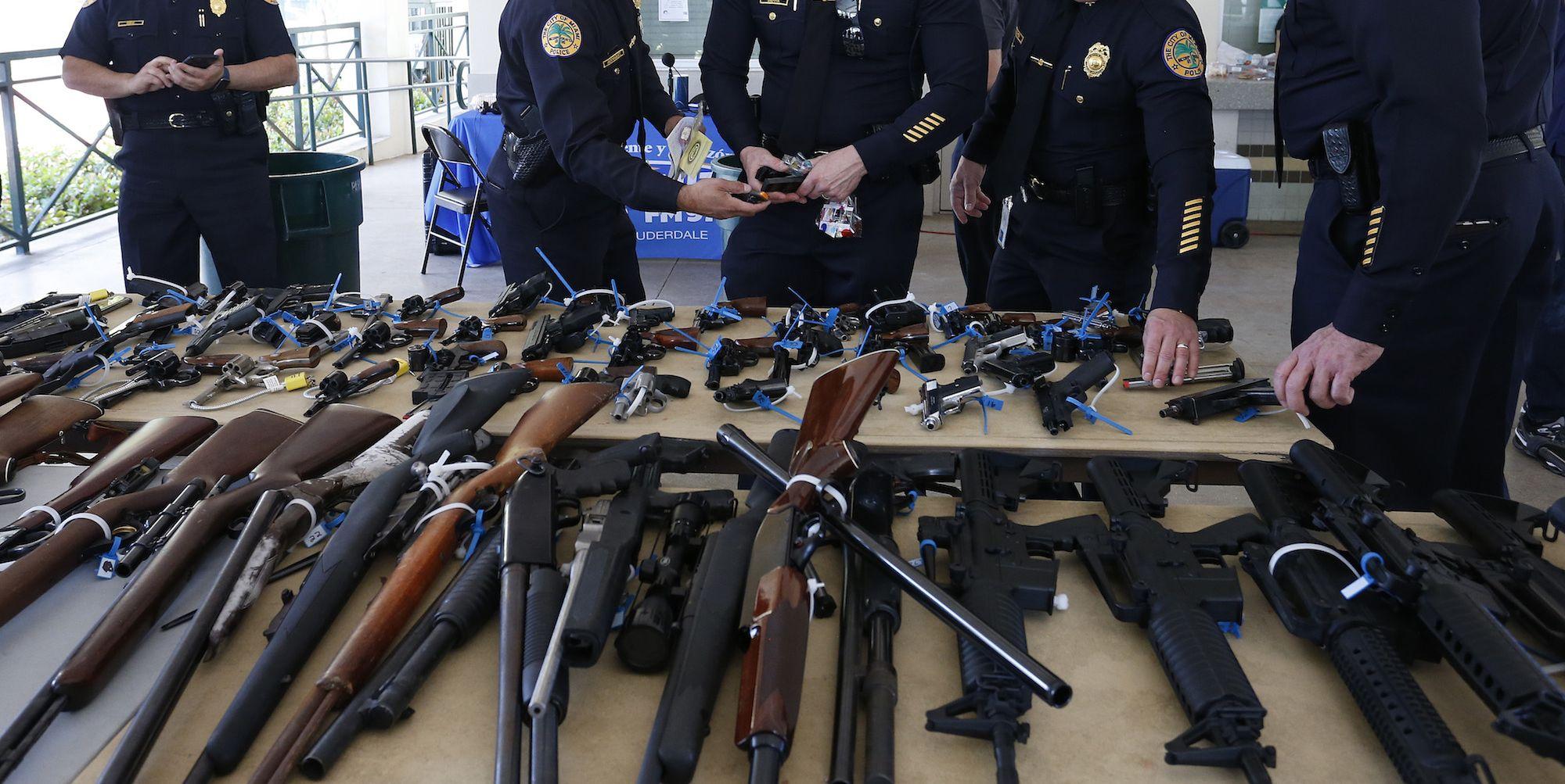 Gun Buyback Programs in the United States