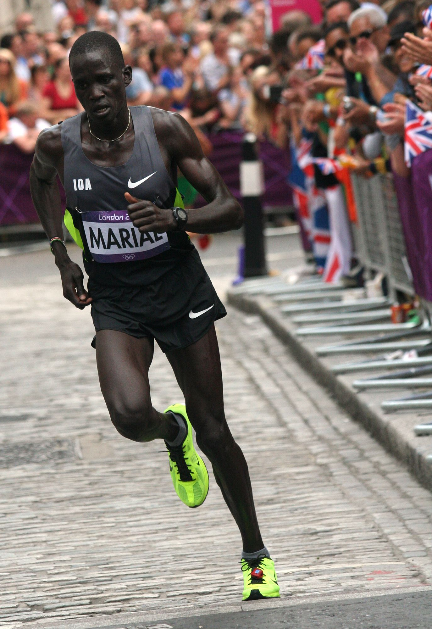 Marathoner Who Ran Under Olympic Flag in 2012 Suspended By South Sudan