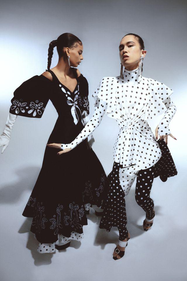 bianco e nero moda 2021