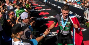 Mundial Ironman 70.3 Gustav Iden Gómez Noya