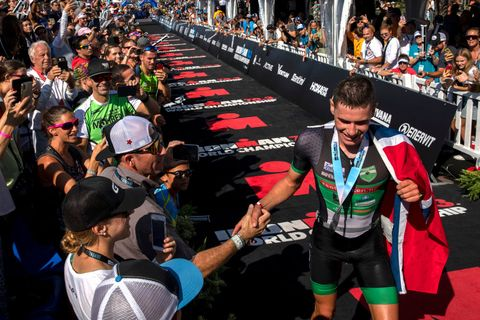 Mundial Ironman 70.3 Gustav Iden Gómez Noya