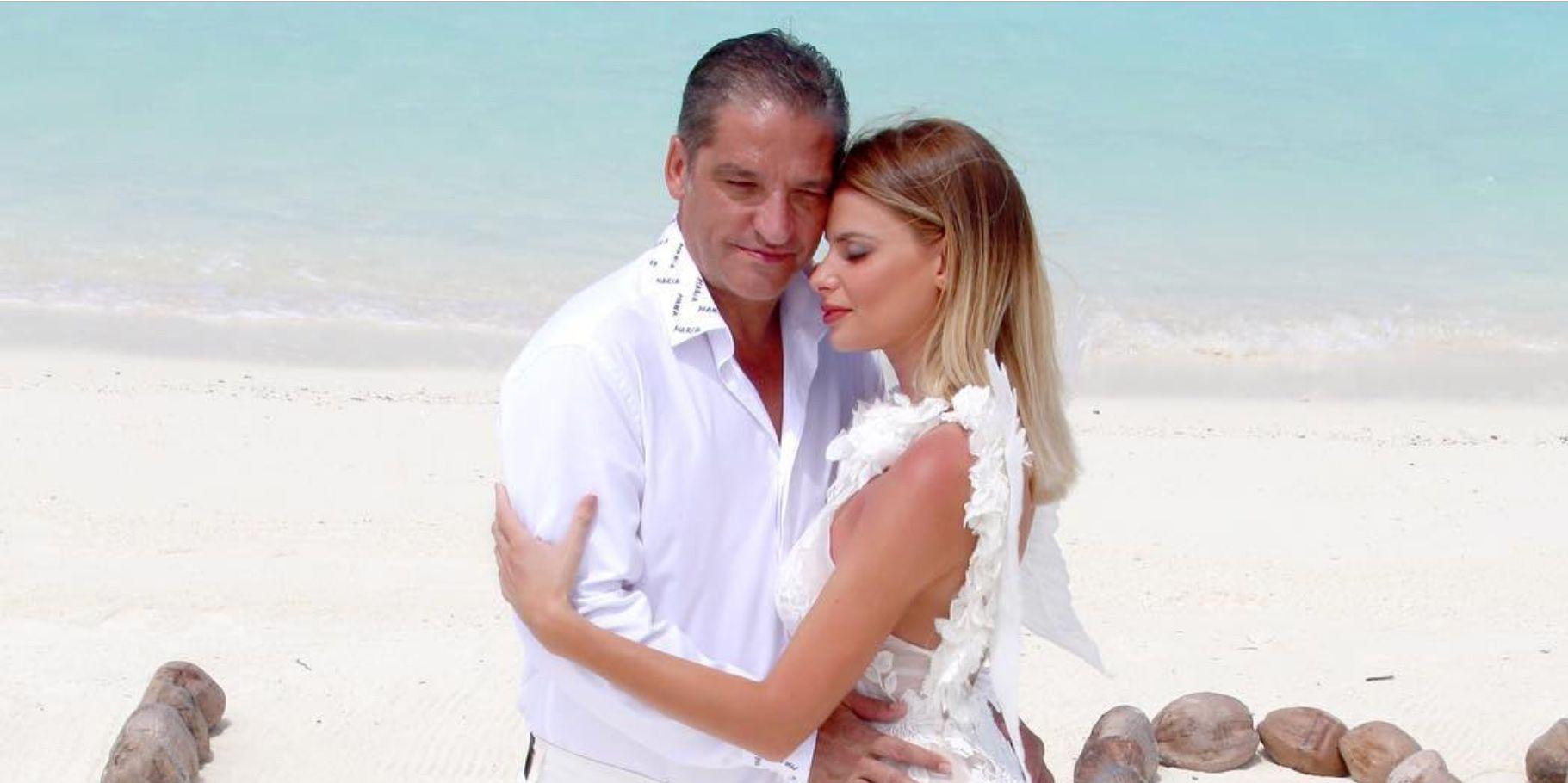 Gustavo González y María Lapiedra