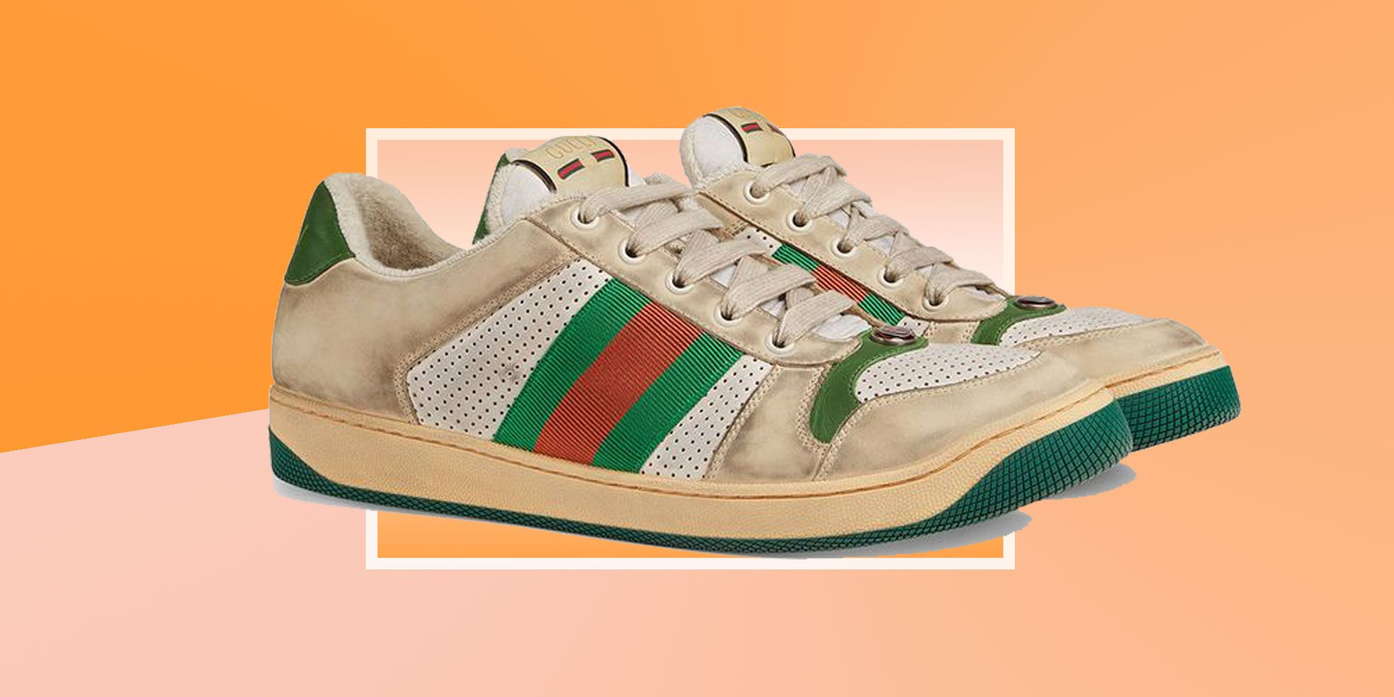 Gucci is selling trainers that look