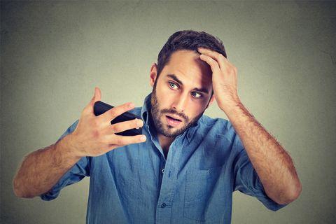 「man worries hair」の画像検索結果