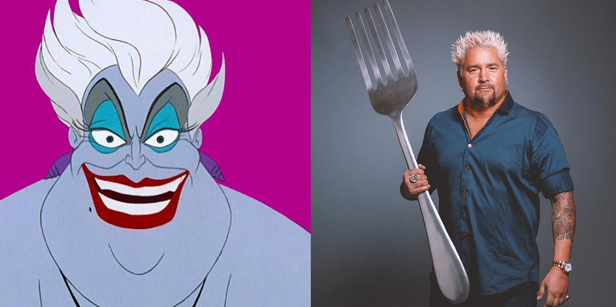 Guy Fieri Would Play Ursula In Disney S Little Mermaid