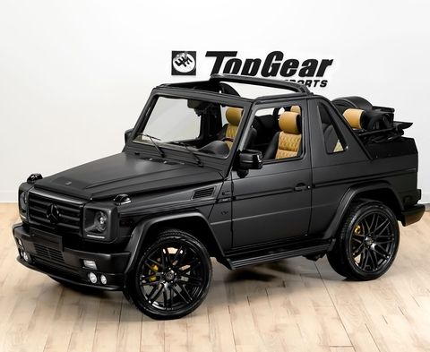 go off the deep end with this mercedes brabus g wagen convertible. Black Bedroom Furniture Sets. Home Design Ideas