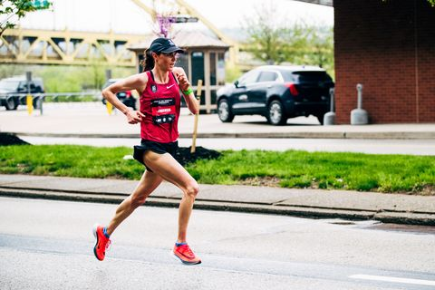 Why a Gold Medalist Dropped Her Sport for the Marathon