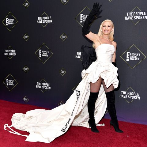 Gwen Stefani en los  People's Choice Awards