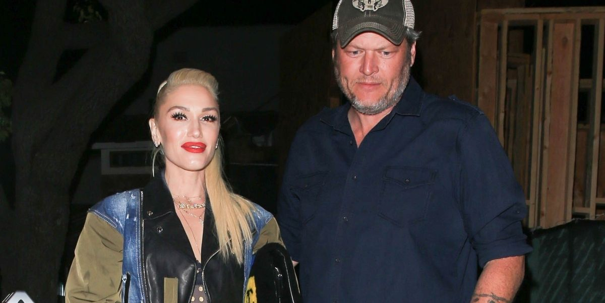 Gwen Stefani Wore One Of A Kind Cowboy Boots On A Date With Blake