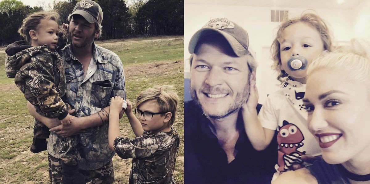 Gwen Stefani Gives Fans a Look on Instagram at the True Blake Shelton When He's Not on TV