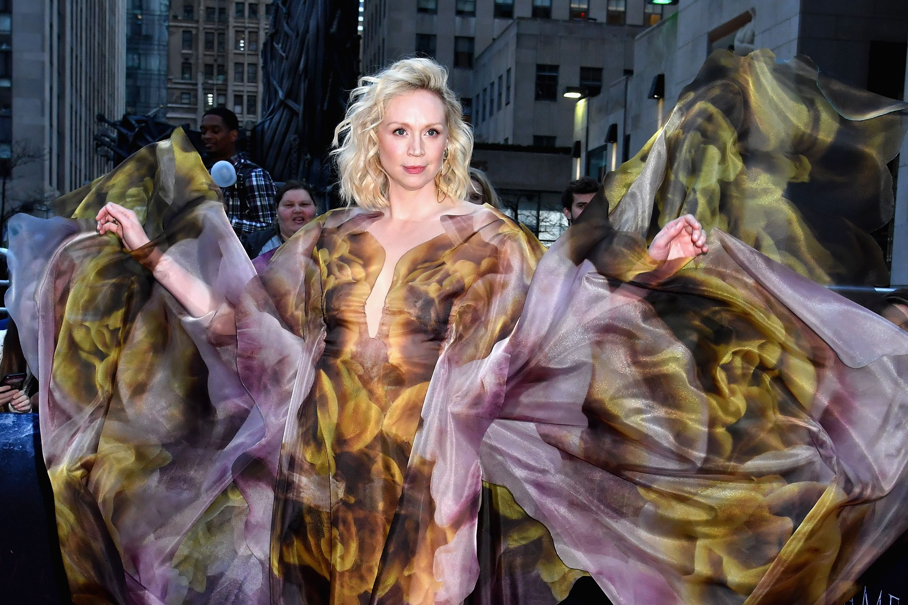 Gwendoline Christie Is Brienne Of Fierce At The Game Of Thrones