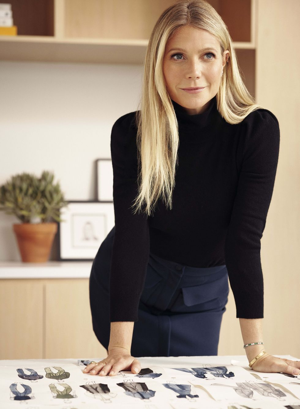 Goop's fashion label is launching a capsule collection based on Gwyneth Paltrow's office uniform