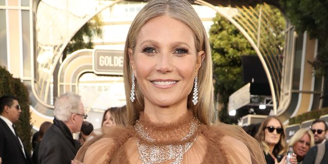 beverly hills, california   january 05 77th annual golden globe awards    pictured gwyneth paltrow arrives to the 77th annual golden globe awards held at the beverly hilton hotel on january 5, 2020    photo by todd williamsonnbcnbcu photo bank via getty images