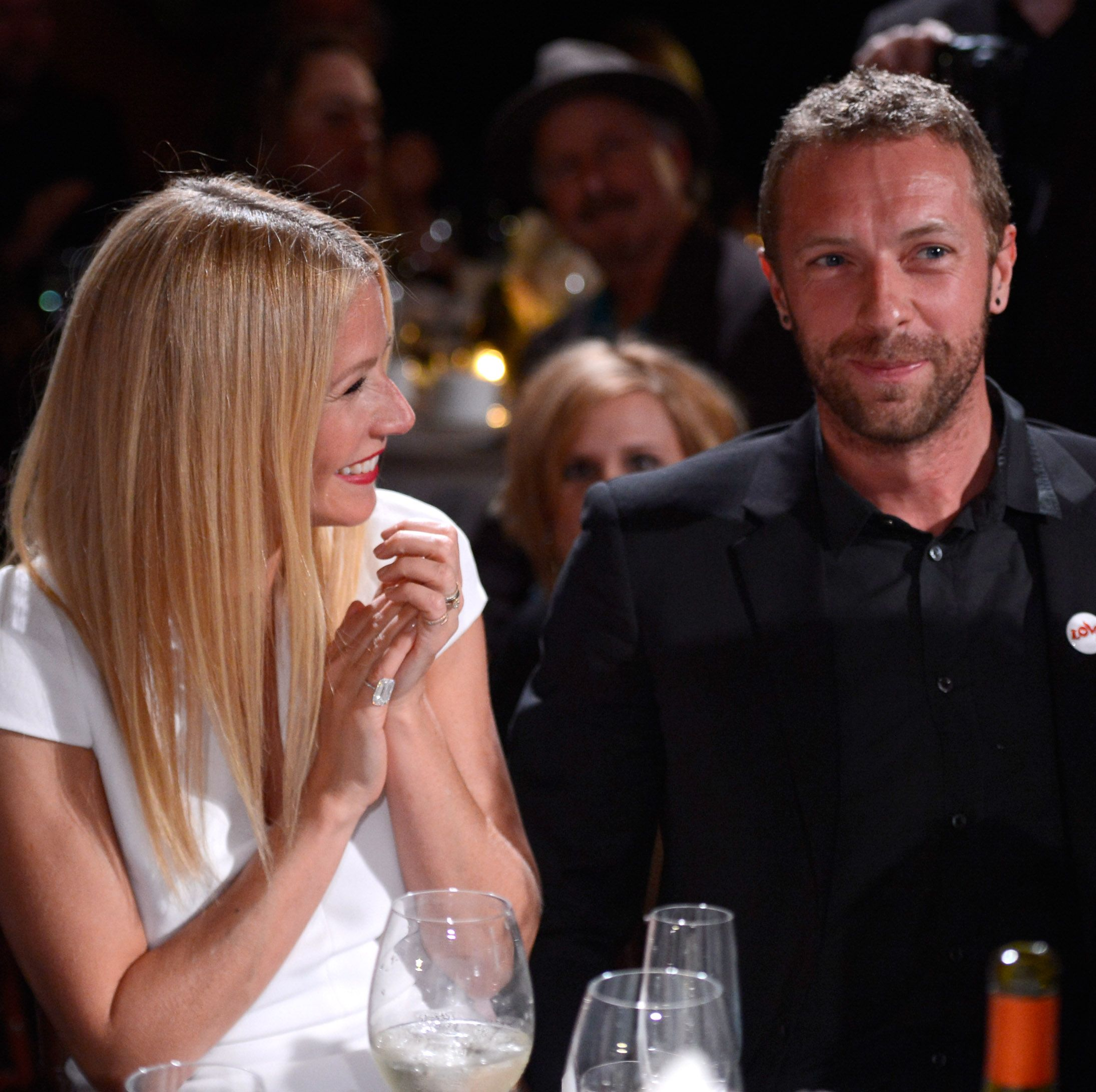 Gwyneth Paltrow and Chris Martin Fans were obsessed with Gwyneth and Chris when they first got together.