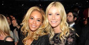 Beyoncé, Gwyneth Paltrow