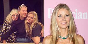 Gwyneth Paltrow y su hija Apple