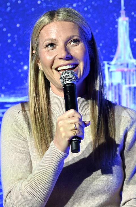 gwyneth paltrow hosts panel discussion at jvp international cyber center grand opening