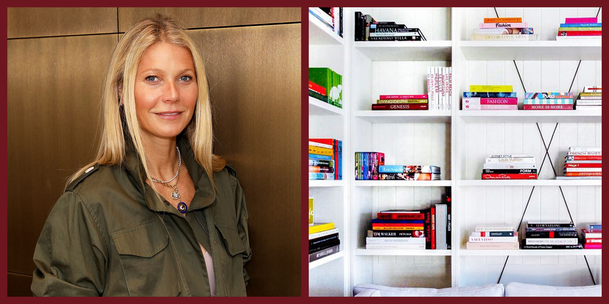 Gwyneth Paltrow Hired a Personal Book Curator—Here's What He Chose For Her Shelves