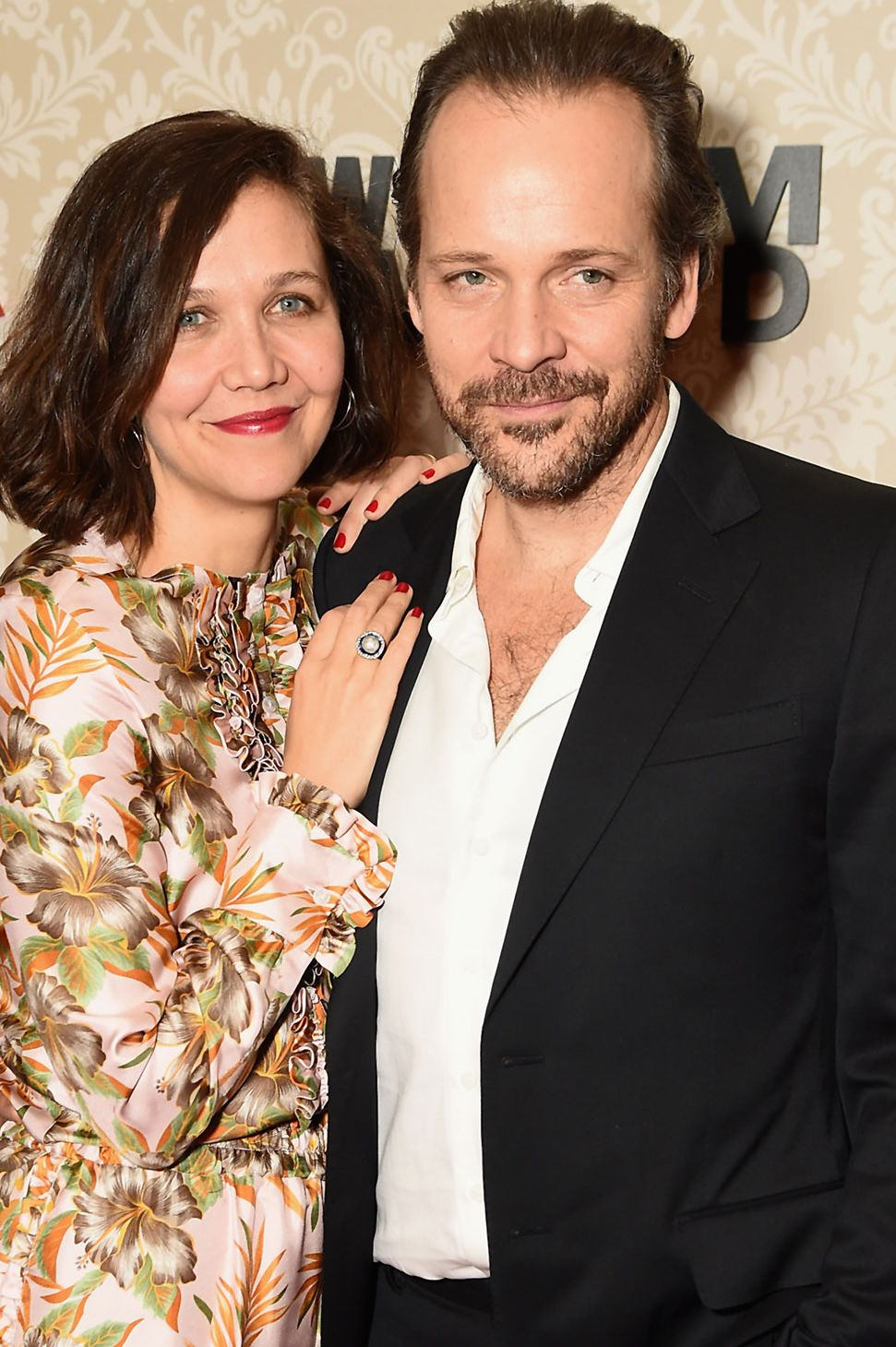 Maggie Gyllenhaal and Peter Sarsgaard We wouldn't exactly call them twins, but these two both have that hipster boho thing going on.