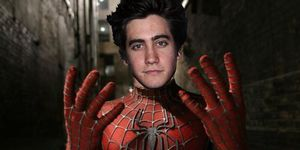 Gyllenhaal spider-man PHOTOSHOP