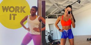 gym hairstyles - women's health uk