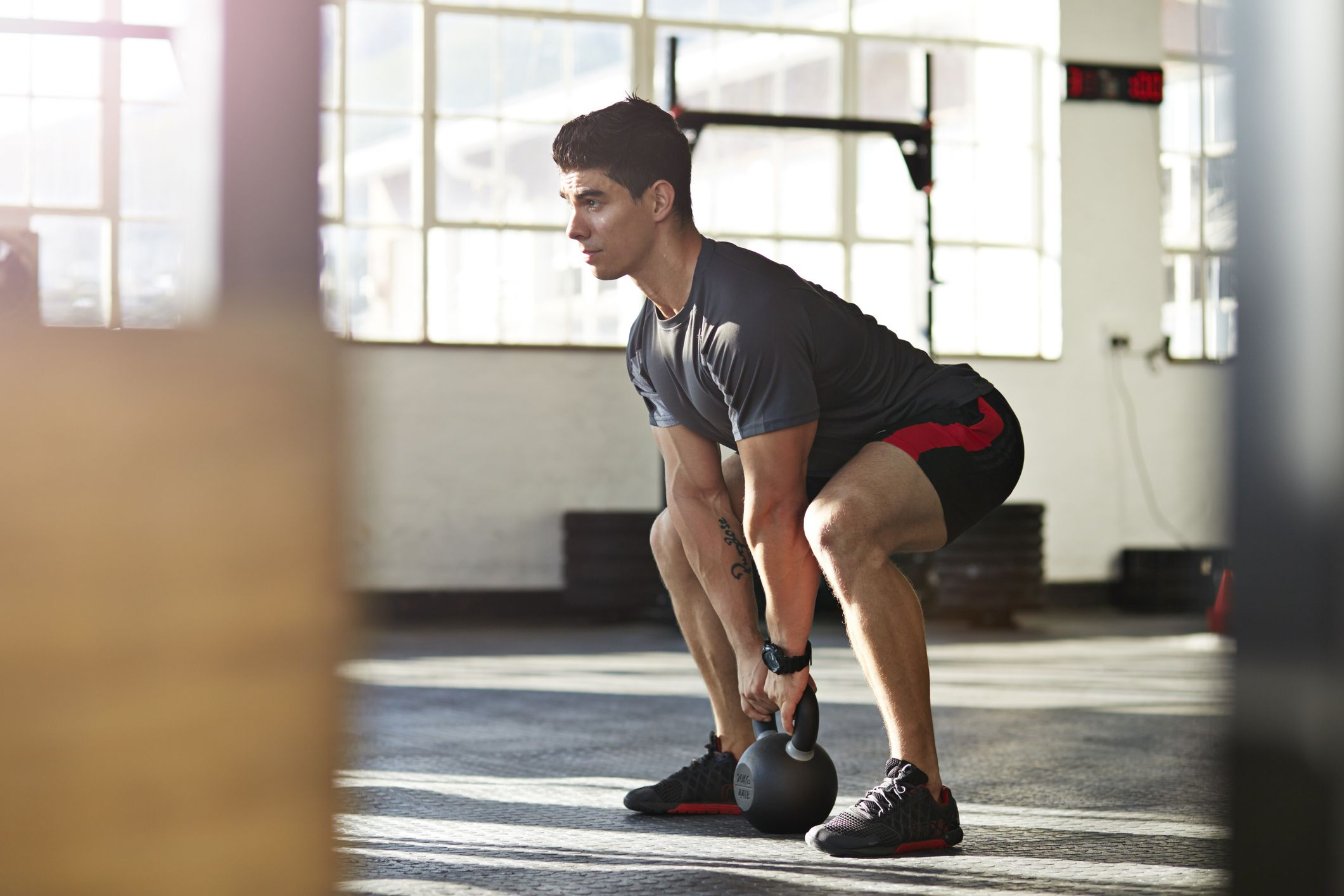 photo about Printable Kettlebell Workout identify This sort of Killer Kettlebell Workouts Will Improve Your Leg and Lung Electric power