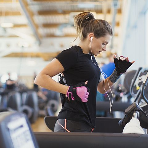 Treadmill, Exercise machine, Shoulder, Exercise equipment, Gym, Arm, Physical fitness, Sportswear, yoga pant, Sports equipment,