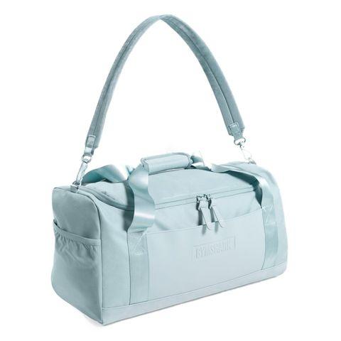 gymshark everyday holdall gymbag tas sporttas blauw licht fitness gym