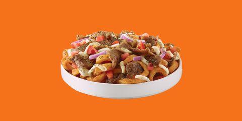 Dish, Food, Cuisine, Ingredient, Poutine, Salad, Produce, Vegetarian food, Caponata, Recipe,