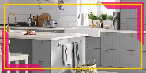 Ikea Kitchen Inspiration Hardware Accents