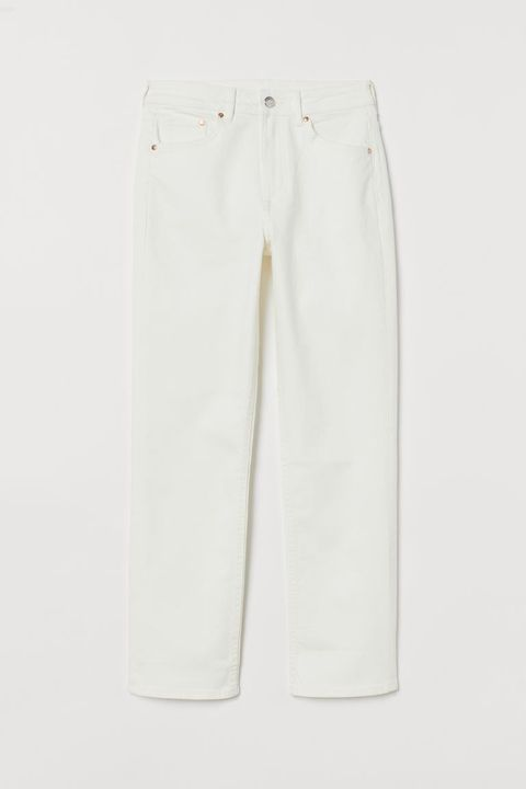 h and m witte broek