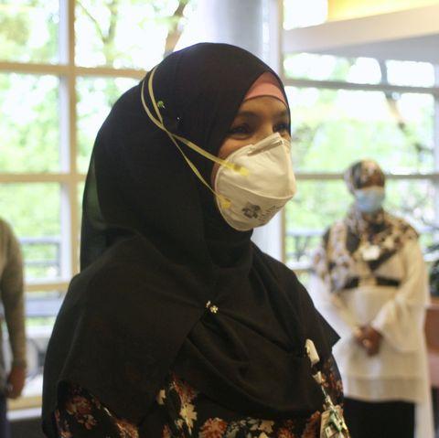 muslim healthcare worker at methodist hospital in minnesota