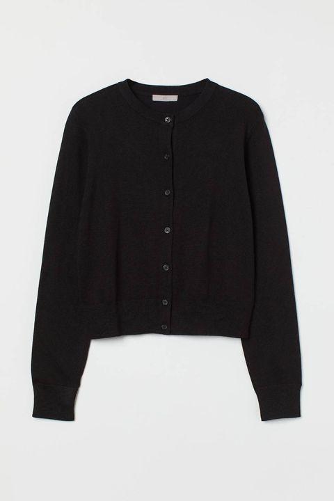 hm cardigan zwart