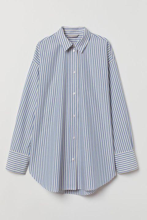 hm gestreept overhemd