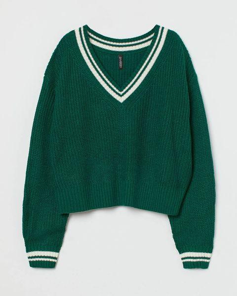 hm groene trui