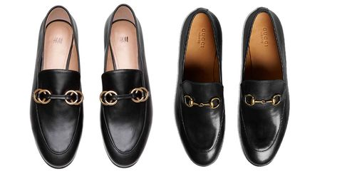 de3a41c0b16c H M are selling Gucci inspired loafers and naturally we need them