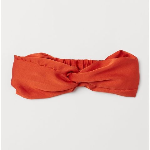 H&M Hairband with a knot detail