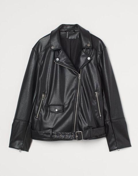 hm imitatieleren biker jacket