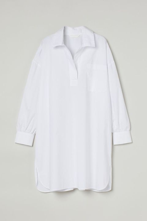 hm lang wit overhemd
