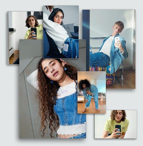 duurzame denimcollectie hm en lee slaan de handen ineen, hm, lee, hm, h and m, duurzaam, collectie, samenwerking, denimlabel, mode, inspiratie, spijkerbroek, jaren '90, 90's, spijkerjack, spijkerjas