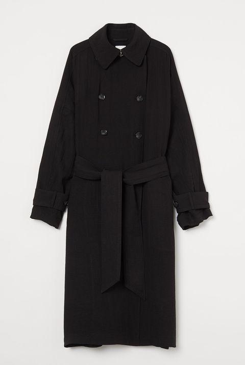 hm oversized trenchcoat