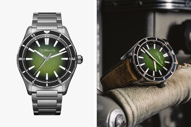 h moser  cie pioneer center seconds x collective