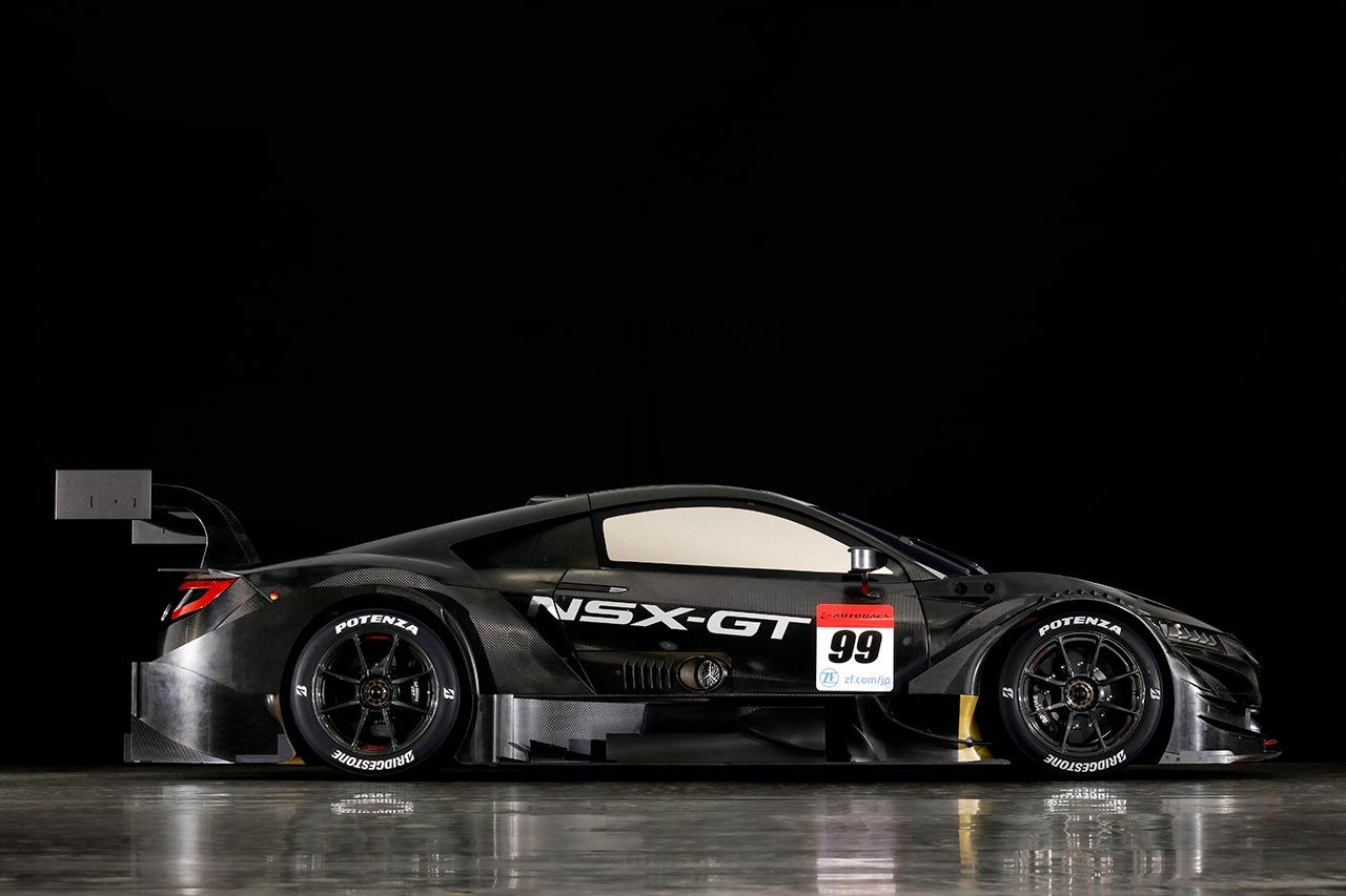 The Newest NSX Race Car Has Its Engine in the Front